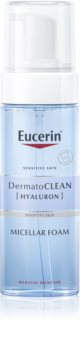 Eucerin DermatoClean Micellar Cleansing Foam for All Skin Types Including Sensitive