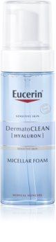 Eucerin DermatoClean Mizellen Reinigungsschaum für alle Hauttypen, selbst für empfindliche Haut