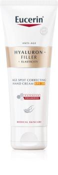 Eucerin Hyaluron-Filler + Elasticity crème mains anti-taches pigmentaires SPF 30