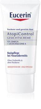 Eucerin AtopiControl die beruhigende Creme für trockene und juckende Haut im Gesicht