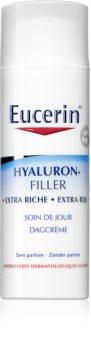 Eucerin Hyaluron-Filler Tagescreme gegen Falten für trockene bis sehr trockene Haut