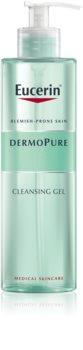 Eucerin DermoPure gel de limpeza profunda para pele problemática