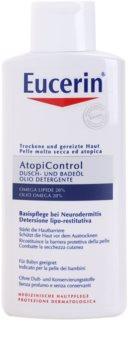 Eucerin AtopiControl huile bain et douche pour peaux sèches avec démangeaisons