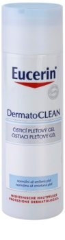 Eucerin DermatoClean gel za čišćenje za normalnu i mješovitu kožu lica