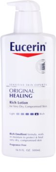 Eucerin Original Healing leche corporal nutritiva para pieles muy secas