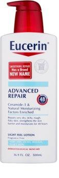 Eucerin Smoothing Repair lehké tělové mléko pro suchou pokožku