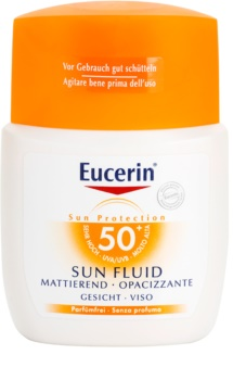 Eucerin Sun Fluid fluid matujący do opalania SPF 50+