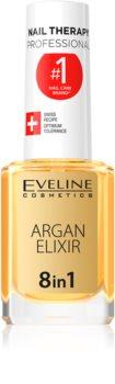 Eveline Cosmetics Nail Therapy regeneracijski eliksir za nohte in obnohtno kožo