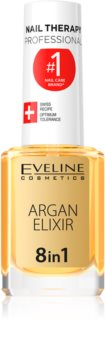 Eveline Cosmetics Nail Therapy regenerirajući eliksir za nokte i kožicu oko noktiju