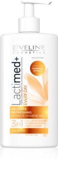 Eveline Cosmetics Lactimed+ gel per l'igiene intima per pelli irritate