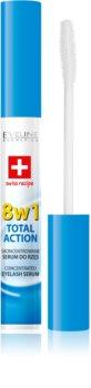 Eveline Cosmetics Total Action serum para pestañas 8 en 1