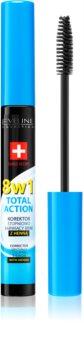 Eveline Cosmetics Total Action korektor na obočie s henou 8 v 1
