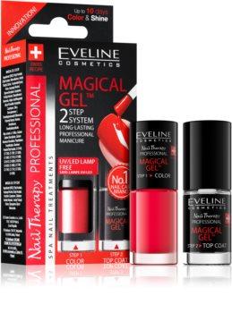 Eveline Cosmetics Nail Therapy Professional gel lak za nokte bez korištenja UV/LED lampe