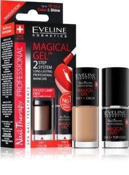 Eveline Cosmetics Nail Therapy Professional géles körömlakk UV/LED lámpa használata nélkül