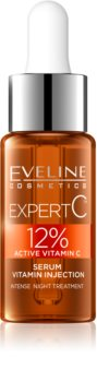 Eveline Cosmetics Expert C активна нічна сироватка з вітамінами