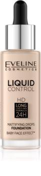 Eveline Cosmetics Liquid Control Flüssiges Make Up mit einer Pipette