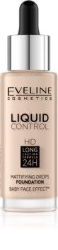 Eveline Cosmetics Liquid Control течен фон дьо тен с пипета