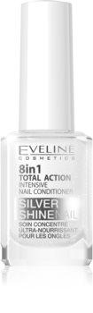 Eveline Cosmetics Nail Therapy Professional balsam pentru unghii cu particule stralucitoare