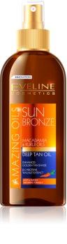 Eveline Cosmetics Sun Care olej pro zvýraznění opálení