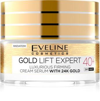 Eveline Cosmetics Gold Lift Expert розкішний зміцнюючий крем з золотом 24 карата