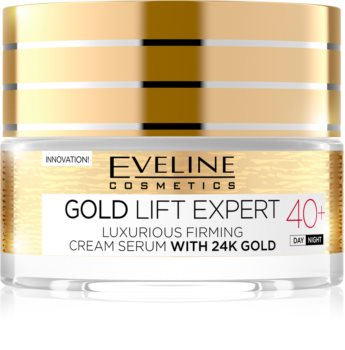 Eveline Cosmetics Gold Lift Expert luksuzna učvrstitvena krema z 24-karatnim zlatom