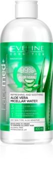 Eveline Cosmetics FaceMed+ micelárna voda s aloe vera