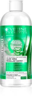 Eveline Cosmetics FaceMed+ woda micelarna z aloesem