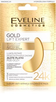 Eveline Cosmetics Gold Lift Expert Maske für die Augen gegen Schwellungen und Augenringe