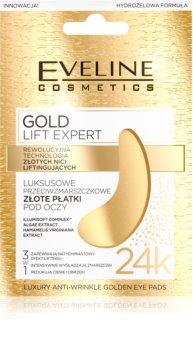 Eveline Cosmetics Gold Lift Expert očná maska proti opuchom a tmavým kruhom