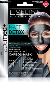 Eveline Cosmetics FaceMed+ Gesichtsmaske für fettige und Mischhaut