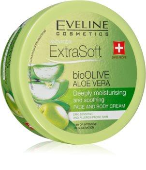 Eveline Cosmetics Extra Soft hidratáló és nyugtató krém az érzékeny bőrre
