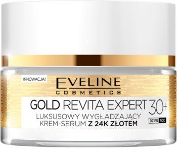 Eveline Cosmetics Gold Revita Expert zpevňující a vyhlazující krém se zlatem