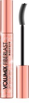 Eveline Cosmetics Volumix Fiberlast Rose mascara pour un effet faux-cils