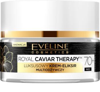 Eveline Cosmetics Royal Caviar Therapy zpevňující krém pro obnovu pružnosti zralé pleti 70+