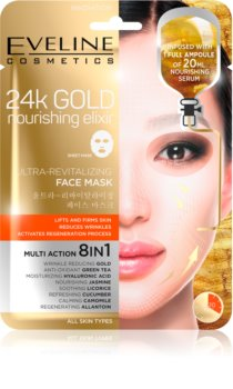 Eveline Cosmetics 24k Gold Nourishing Elixir maschera liftante