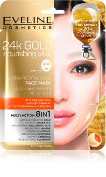 Eveline Cosmetics 24k Gold Nourishing Elixir maska za lifting