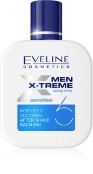 Eveline Cosmetics Men X-Treme Sensitive успокояващ балсам след бръснене 6 в 1