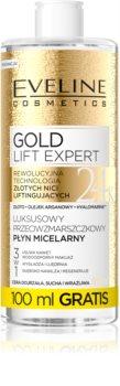 Eveline Cosmetics Gold Lift Expert micelarna voda za čišćenje za zrelu kožu lica
