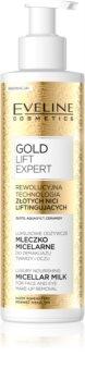 Eveline Cosmetics Gold Lift Expert micelární odličovací mléko