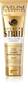 Eveline Cosmetics Royal Snail mattító BB krém 8 in 1