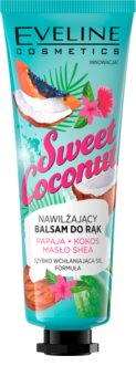 Eveline Cosmetics Sweet Coconut bálsamo nutritivo de mãos