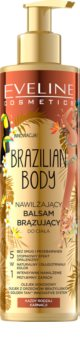 Eveline Cosmetics Brazilian Body Bálsamo de autobronzeamento de  bronzeamento gradual