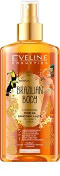 Eveline Cosmetics Brazilian Body Selbstbräunendes Bronzing-Spray für ein natürliches Aussehen