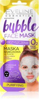 Eveline Cosmetics Bubble Mask textile Maske mit Reinigungseffekt