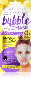 Eveline Cosmetics Bubble Mask платнена маска с почистващ ефект