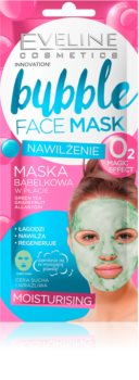 Eveline Cosmetics Bubble Mask Sheet Mask with Moisturizing Effect