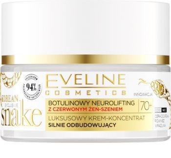 Eveline Cosmetics Exclusive Korean Snake crème anti-rides jour et nuit 70+