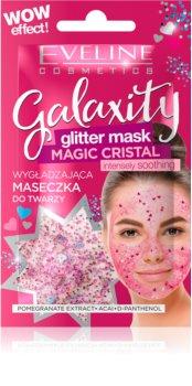 Eveline Cosmetics Galaxity Glitter Mask zselés arcmaszk csillámporral