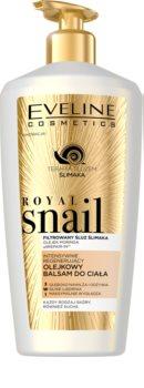 Eveline Cosmetics Royal Snail bálsamo corporal de hidratação intensa