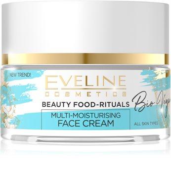 Eveline Cosmetics Bio Vegan tiefenwirksame feuchtigkeitsspendende Creme